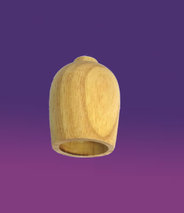 Oval-wooden